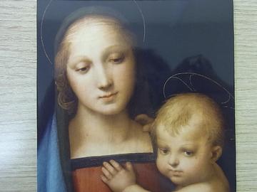 ラファエロ「聖母子」のサムネイル画像