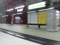終電間近の駅